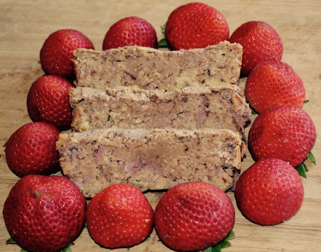Healthy Strawberry Bread